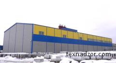 Строительный аудит построенного производственно объекта